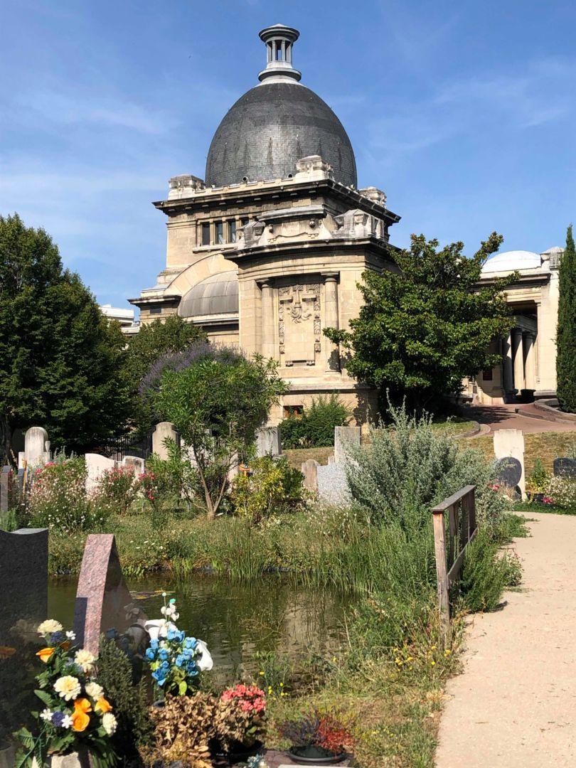 Le Crématorium, un monument